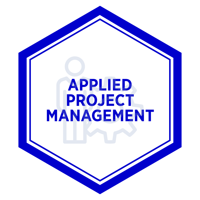 AIM Applied Project Management Badge