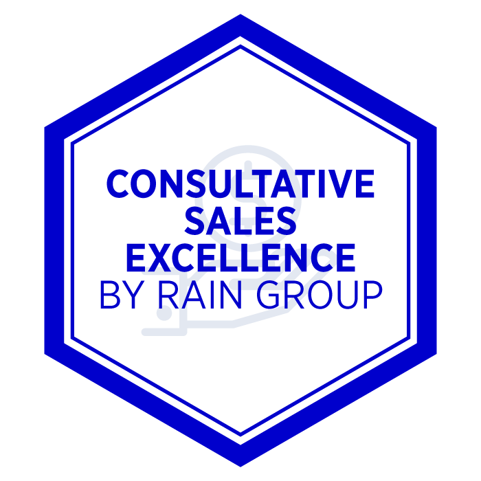 AIM Consultative Sales Excellence Badge