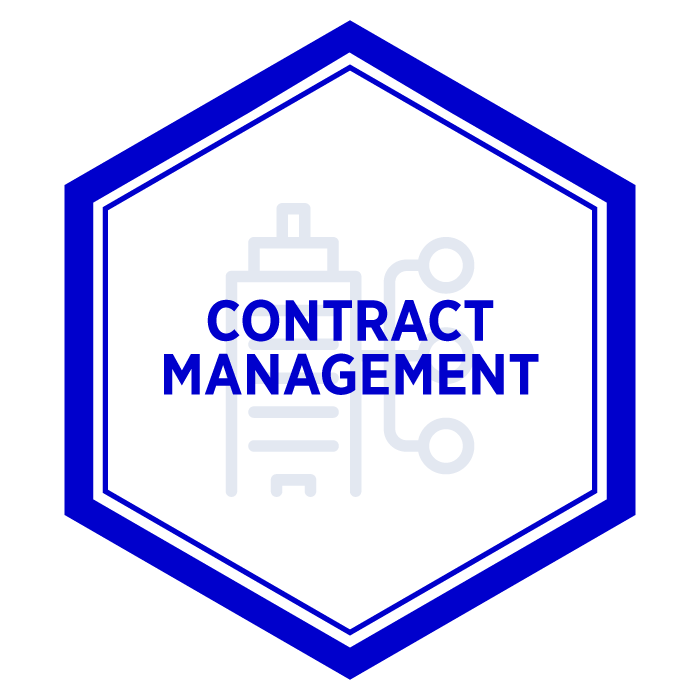 AIM Contract Management Badge
