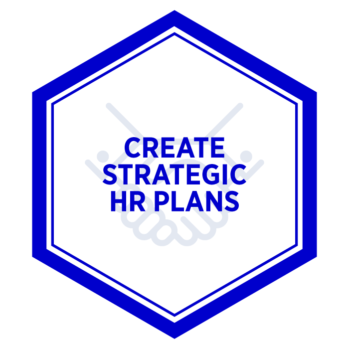 AIM Create Strategic Human Resource Plans Badge