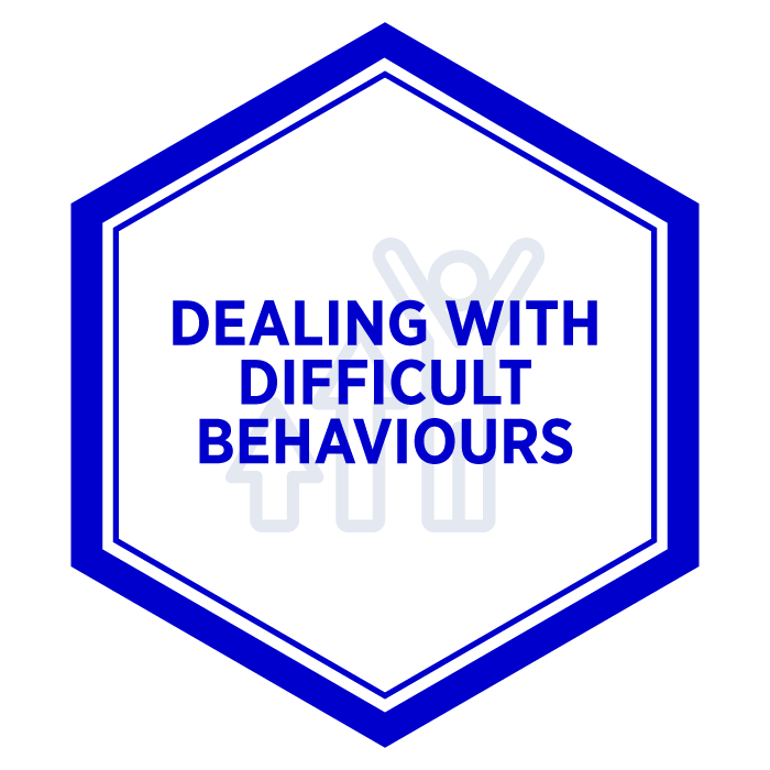 AIM Dealing with Difficult Behaviours Badge