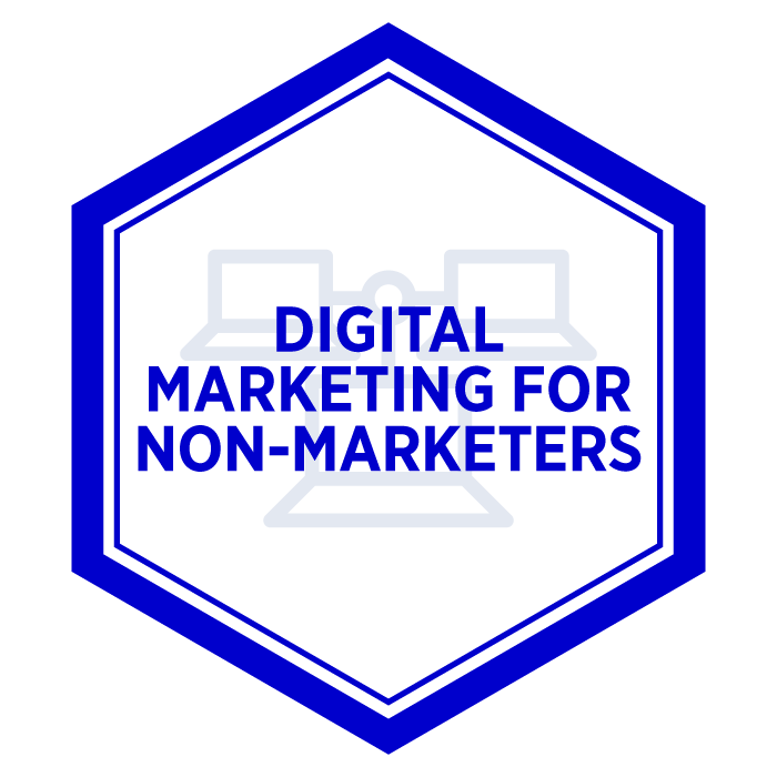 AIM Digital Marketing For Non-Marketers Digital Badge