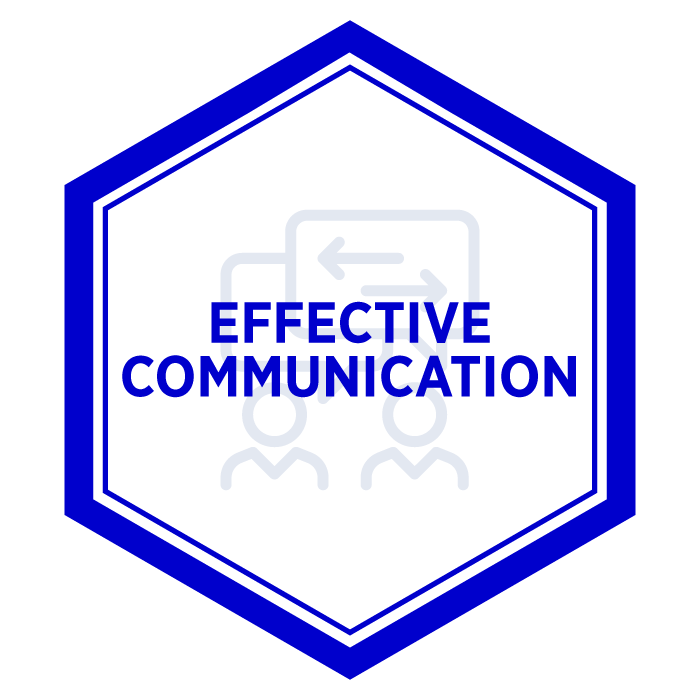 AIM Effective Communication Badge