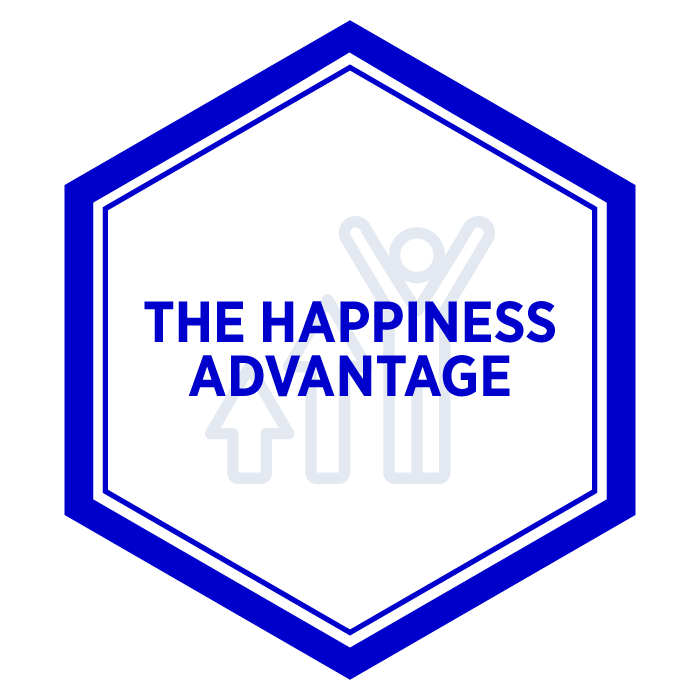AIM The Happiness Advantage Badge