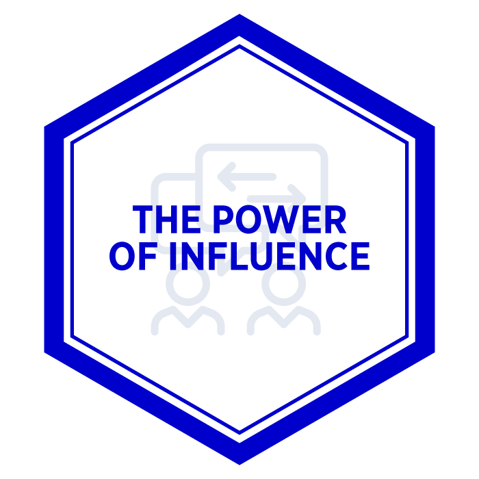AIM The Power of Influence Badge