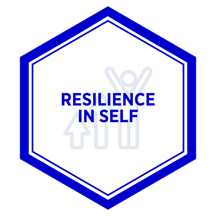 AIM Resilience in Self Badge